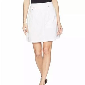 Jag Jeans Women's On The Go white Skirt size 6 new